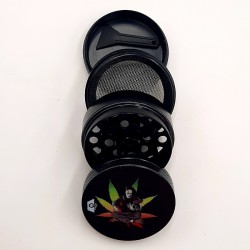 GRINDER GP 4 PARTI-Ø40MM NERO