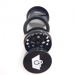 GRINDER GP 4 PARTI-Ø 40 MM NERO