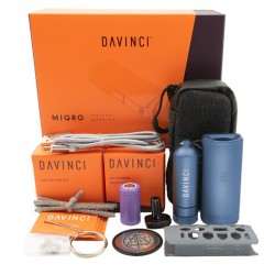 DAVINCI - MIQRO EXPLORER COLLECTION VAPORIZZATORE PORTATILE | COBALT