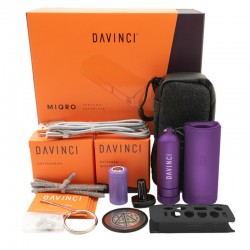 DAVINCI - MIQRO EXPLORER COLLECTION VAPORIZZATORE PORTATILE | AMETHYST