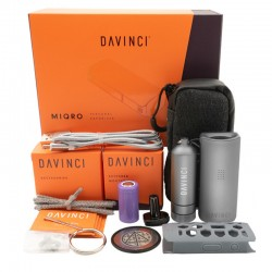DAVINCI - MIQRO EXPLORER COLLECTION VAPORIZZATORE PORTATILE | GRAPHITE
